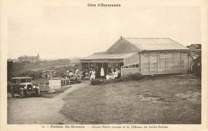 "CPA FRANCE 35 ""Pointe du Grouin, Chalet Marie Louise"""