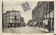"""92 Haut De Seine / CPA FRANCE 92 """"Puteaux, rue Auguste Rousselle et rue de la république"""""""