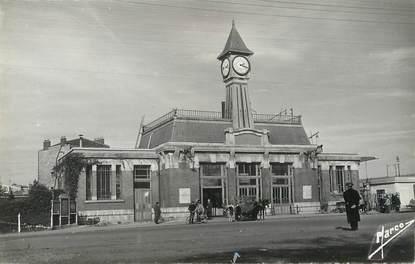 """/ CPSM FRANCE 93 """"Aulnay sous Bois, la gare"""""""