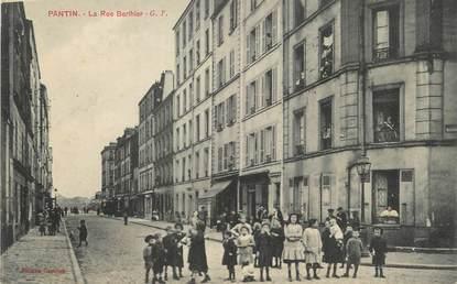 "/ CPA FRANCE 93 ""Pantin, La rue Berthier"""
