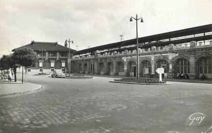 "/ CPSM FRANCE 93 ""Le Raincy, la gare"""