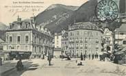 """65 Haute PyrÉnÉe / CPA FRANCE 65 """"Cauterets, place de la mairie"""""""