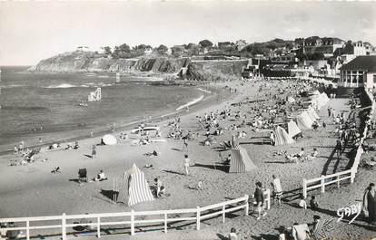 """/ CPSM FRANCE 22 """"Saint Quay Portrieux, la plage, la piscine et la pointe du Sémaphore"""""""