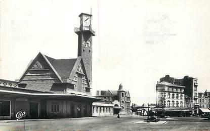 """/ CPSM FRANCE 22 """"Dinan, la gare et l'hôtel de l'Europe"""""""