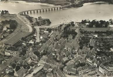 """/ CPSM FRANCE 35 """"Saint Briac sur Mer, le centre, le pont du Frémur et vue sur Lancieux"""""""