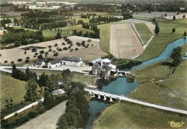 """/ CPSM FRANCE 35 """"Talensac, moulin et pont sur le Meu"""""""