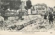 """94 Val De Marne / CPA FRANCE 94 """"Le Pont de Charenton éventré par une explosion 1912"""""""