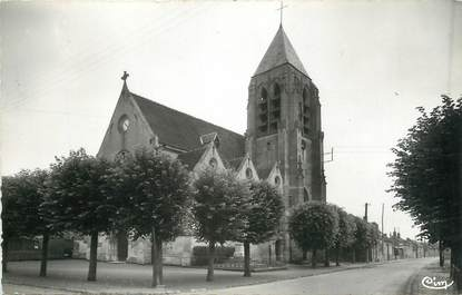 """/ CPSM FRANCE 60 """"Le Meux, l'église"""