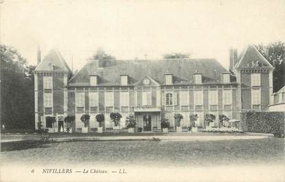 "/ CPA FRANCE 60 ""Nivillers, le château"""