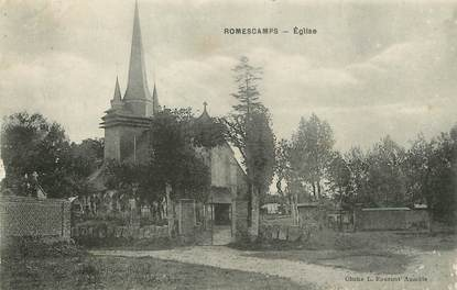 "/ CPA FRANCE 60 ""Romescamps, église"""
