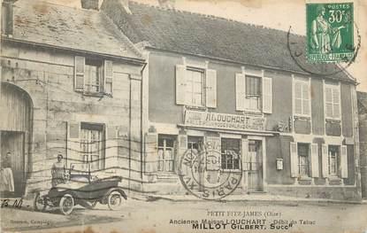 """/ CPA FRANCE 60 """"Petit Fitz James, ancienne Maison Louchart, débit de tabac"""""""
