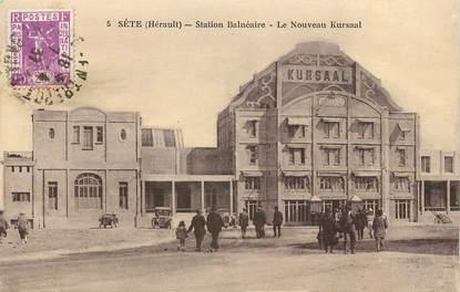 """CPA FRANCE 34 """"Sète, le nouveau Kursaal"""""""