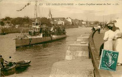 """CPA FRANCE 85 """"Les Sables d'Olonne"""""""