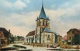 "/ CPA FRANCE 60 ""Sainte Geneviève, l'église"""