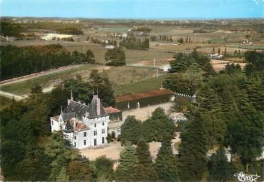 """/ CPSM FRANCE 33 """"Saint Etienne de Lisse, château de Pressac"""""""