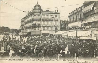 """CPA FRANCE 34 """"Montpellier, le Grand Café"""""""