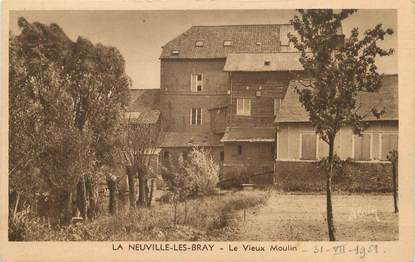 """/ CPA FRANCE 78 """"La Neuville Les Bray, le vieux moulin"""""""