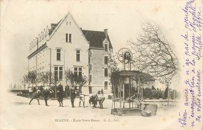 """CPA FRANCE 21 """"Beaune, Ecole Notre Dame"""""""