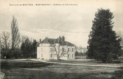 """CPA FRANCE 61 """"Env. de Mortrée, Montmerrey, Château du Val Heureux"""""""