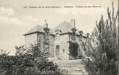 "CPA FRANCE 44 ""Avessac, Chateau de Bois Madame"""
