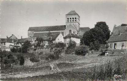 """/ CPSM FRANCE 77 """"Saint Loup de Naud, église, relief"""""""