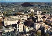 """04 Alpe De Haute Provence / CPSM FRANCE 04 """"Forcalquier, vue générale aérienne"""""""