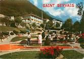 """74 Haute Savoie / CPSM FRANCE 74 """"Saint Gervais les Bains, le golf miniature"""""""