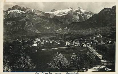 """/ CPSM FRANCE 74 """"La Roche sur Foron, montagne d'Andey et Pic de Jalouvre"""""""