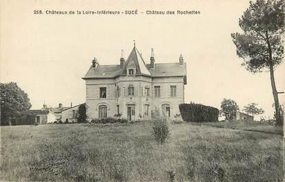 """CPA FRANCE 44 """"Sucé, Chateau des Rochettes"""""""