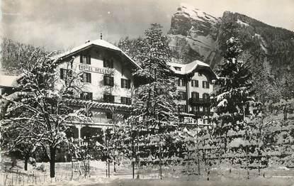 """/ CPSM FRANCE 74 """"Samoëns, hôtel Bellevue"""""""