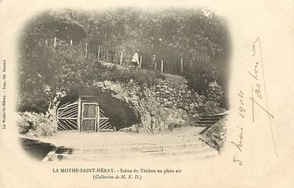 "CPA FRANCE 79 ""La Mothe Saint Héray"""