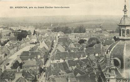 "CPA FRANCE 61 ""Argentan, pris du grand clocher Saint Germain"""