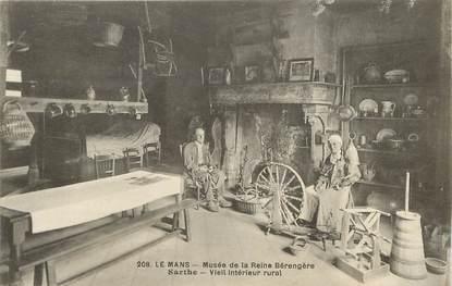 """CPA FRANCE 72 """"Le Mans, Musée de la Reine Bérengère"""""""