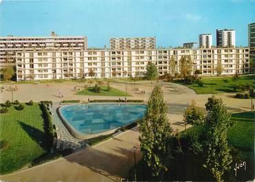"""/ CPSM FRANCE 93 """"Epinay sur Seine, jardin de la place de Paris"""""""
