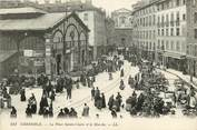"38 Isere CPA FRANCE 38 ""Grenoble, la Place Sainte Claire"""