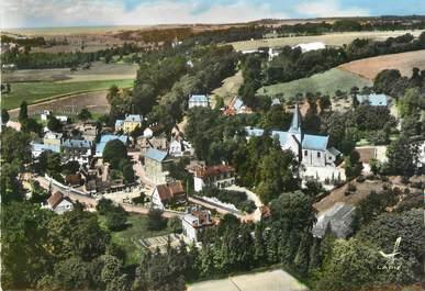 """/ CPSM FRANCE 76 """"Ouville la Rivière, le quartier de l'église"""""""