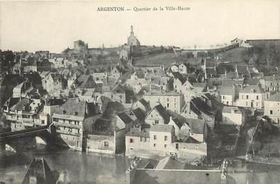 """CPA FRANCE 36 """"Argenton, quartier de la ville Haute"""""""