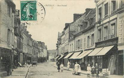 """/ CPA FRANCE 76 """"Pavilly, rue Postel"""""""