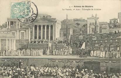 """CPA FRANCE 34 """"Arènes de Béziers"""""""