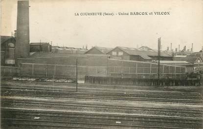 """CPA FRANCE 93 """"La Courneuve, Usine Babcox et Vilcox"""""""