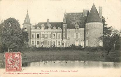 """CPA FRANCE 61 """"Env. de Laigle, Château de Fontenil"""""""