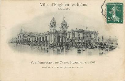 """CPA FRANCE 95 """"Enghien les Bains"""""""