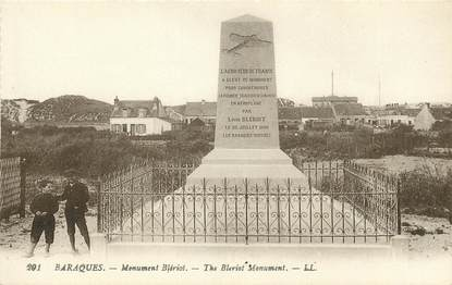 "CPA FRANCE 62 ""Baraques, monument Blériot"""
