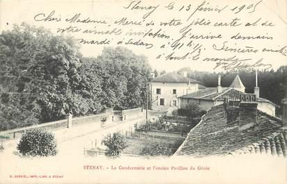 "CPA FRANCE 55 ""Stenay, la gendarmerie"""