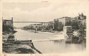 "81 Tarn / CPA FRANCE 81 ""Rabastens, le pont suspendu"" / Ed. Labouche"