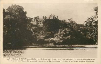 """CPA FRANCE 22 """"Chateau de Pont Callec"""""""