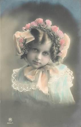 """CPA ENFANT  """"Portrait Petite fille"""""""