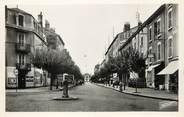 """01 Ain / CPSM FRANCE 01 """"Bourg, rue Alphonse Bodin et dans le fond, la gare"""""""