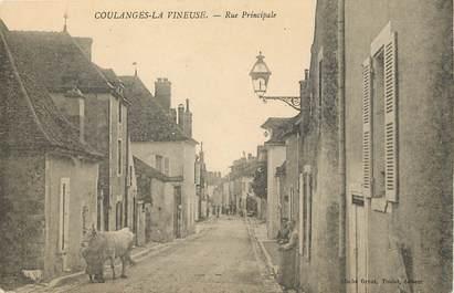 """CPA FRANCE 89 """"Coulanges la Vineuse"""""""