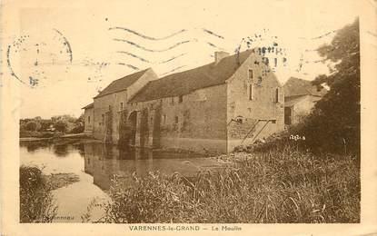"""CPA FRANCE 71 """"Varennes le Grand, le Moulin"""""""